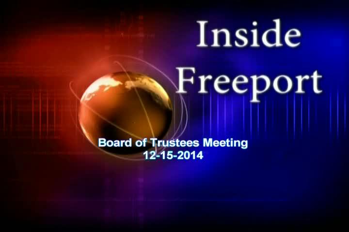 Board of Trustees Meeting 12-15-2014