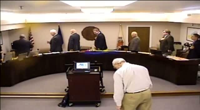 Board of Supervisors Meeting - December 16, 2014