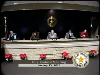 City Council - January 13, 2015