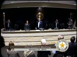 City Council - January 27, 2015