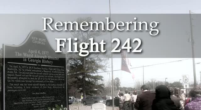 Flight  242 Memorial 2014