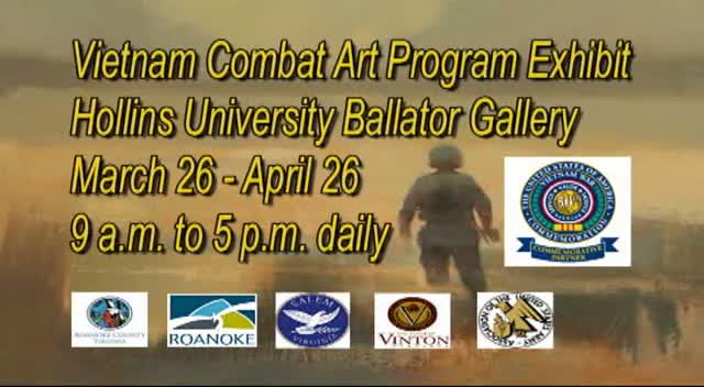 Vietnam Combat Art Exhibit PSA