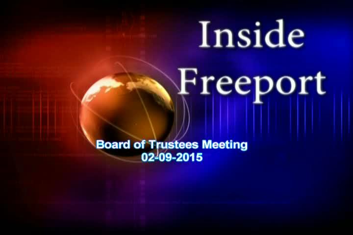 Board of Trustees Meeting 02-09-2015