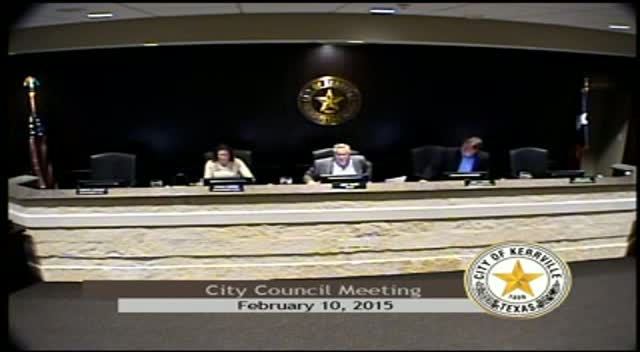 City Council - February 10, 2015