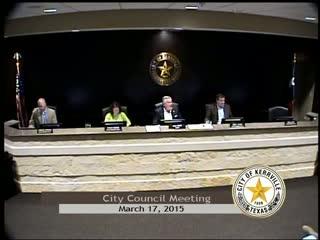City Council - March 17, 2015