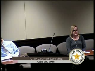 City Council - April 28, 2015