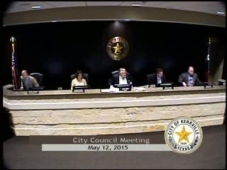 City Council - May 12, 2015