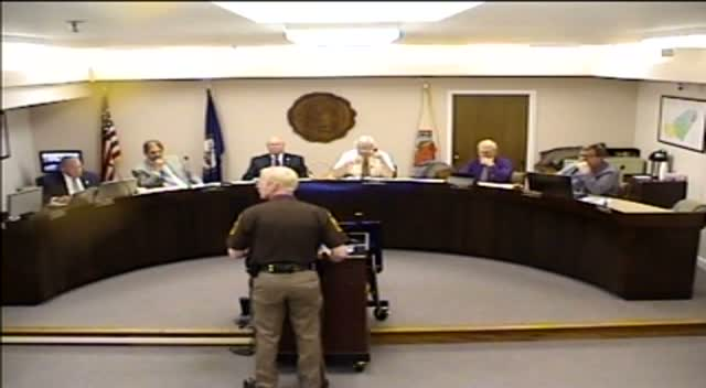 Board of Supervisors Meeting - May 12, 2015