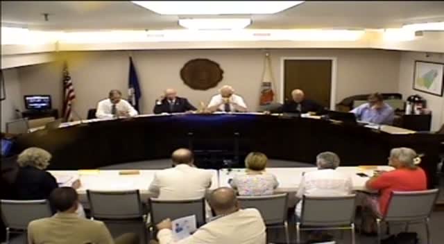 Board of Supervisors Meeting - June 23, 2015