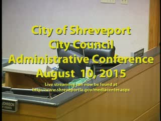 08/10/2015  Administrative Conference