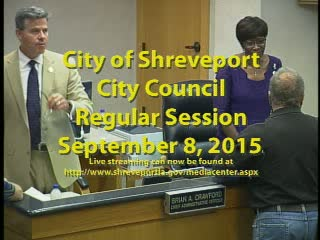 09/08/2015 Regular Session of City Council