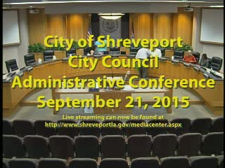 09/21/2015 Administrative Conference