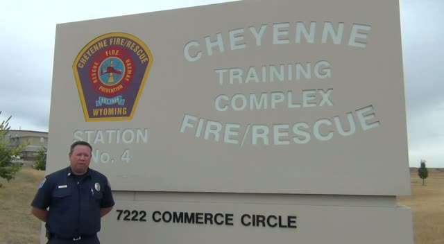 Cheyenne Fire & Rescue Fire Safety Open House