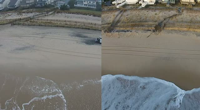Before & After Videos of Protective Beach Dune