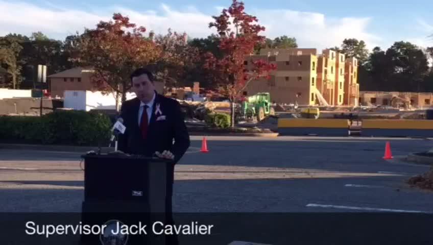 Aquia Town Center Earth Moving Ceremony