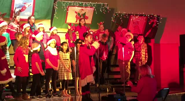 West Holiday Concert 2015
