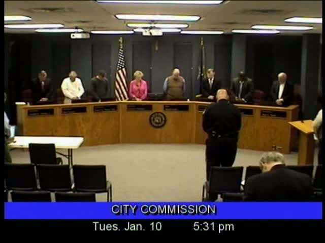 Board of Commissioners Meeting - January 10, 2012