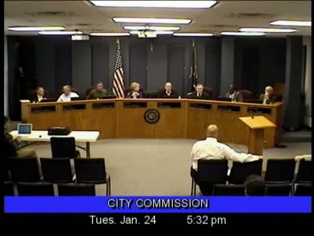 Board of Commissioners Meeting - January 24, 2012