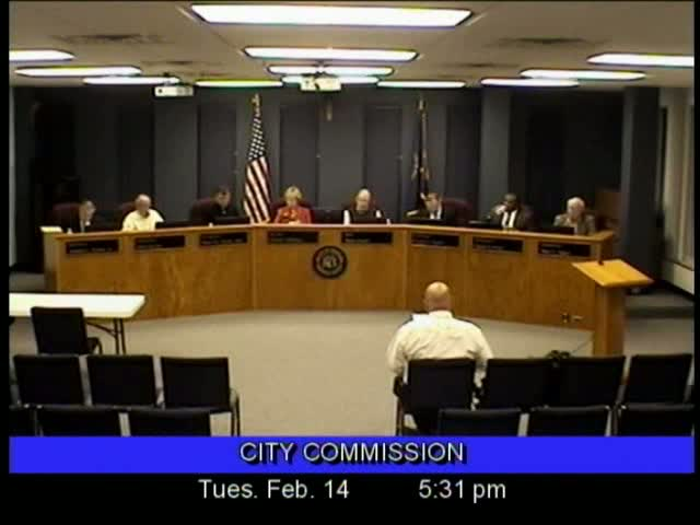 Board of Commissioners Meeting - February 14, 2012