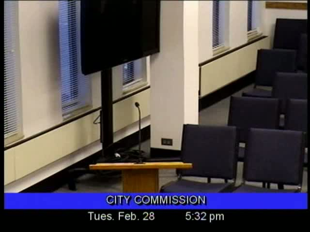 Board of Commissioners Meeting - February 28, 2012