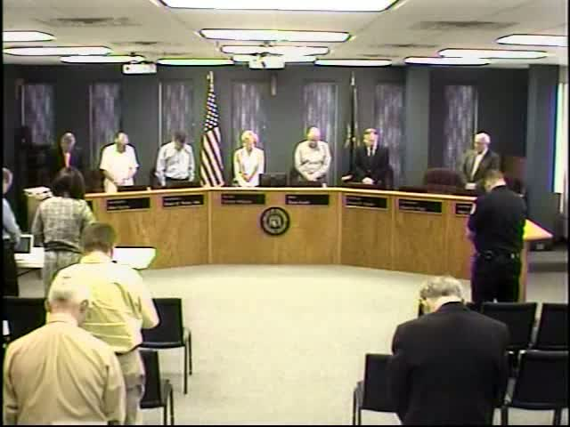 Board of Commissioners Meeting - March 27, 2012