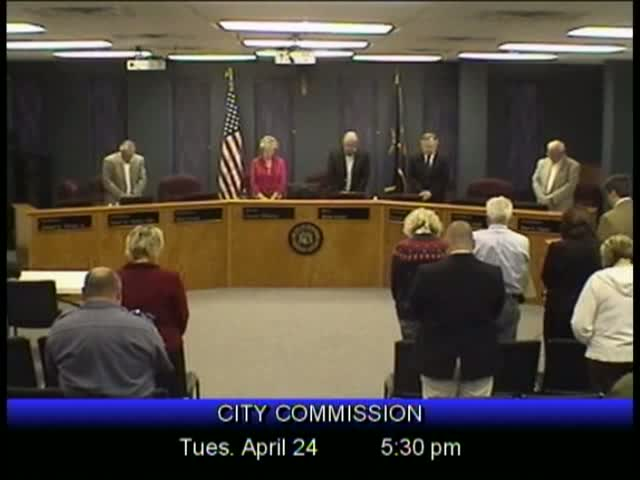 Board of Commissioners Meeting - April 24, 2012