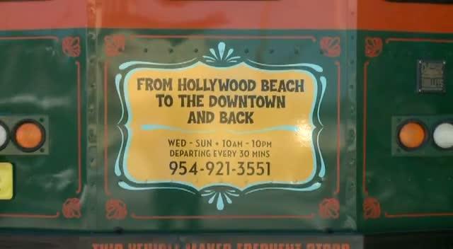 Hollywood Trolley