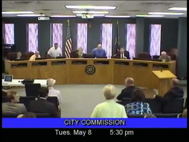 Board of Commissioners Meeting - May 8, 2012