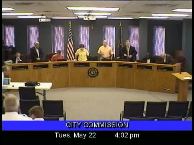 Board of Commissioners Meeting - May 22, 2012