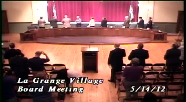 La Grange Village Board Meeting - 5/14/12