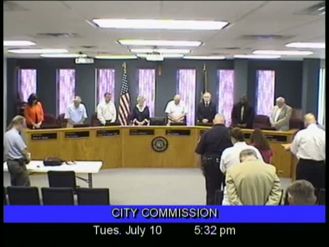 Board of Commissioners Meeting - July 10, 2012