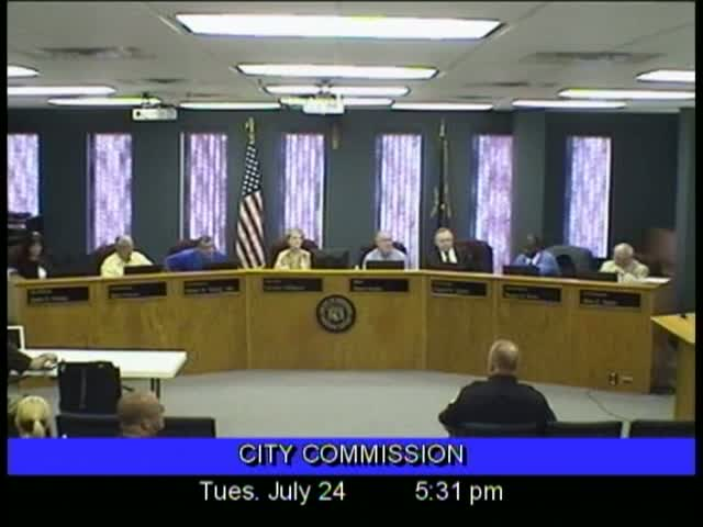 Board of Commissioners Meeting - July 24, 2012