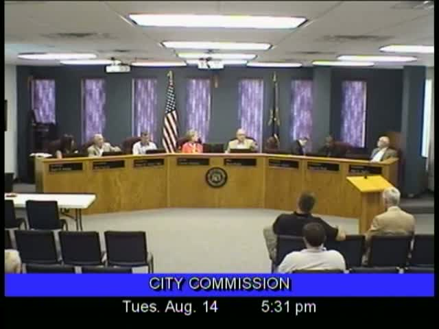 Board of Commissioners Meeting - August 14, 2012