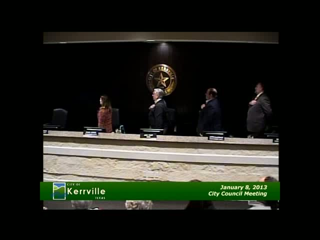 City Council - January 08 , 2013